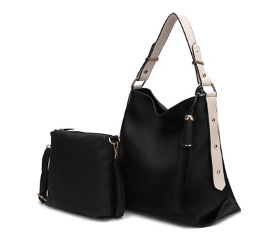 MKF Collection Rosetta Hobo with Crossbody Bag by Mia K. Was: $249 Now: $39.99.