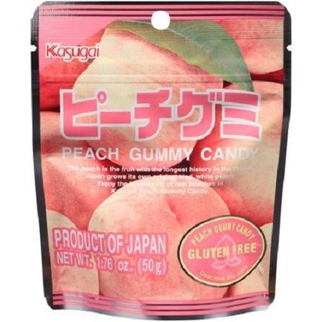 Kasugai Peach Gummy Candy