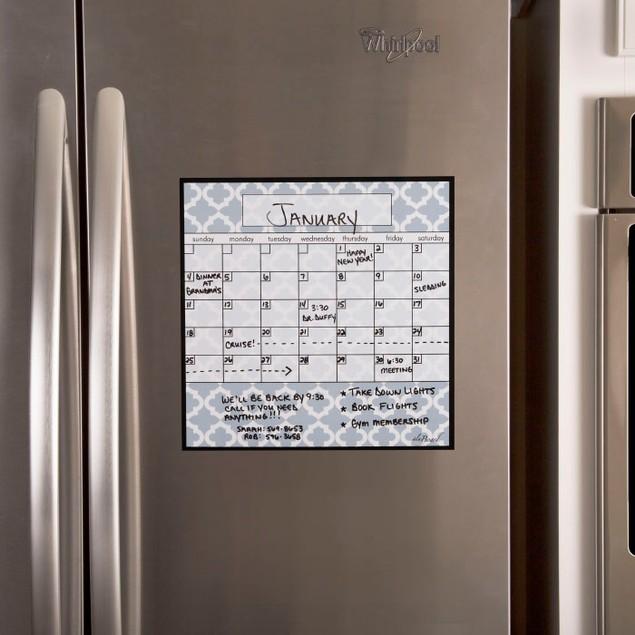 Dry Erase Monthly Calendar Magnet