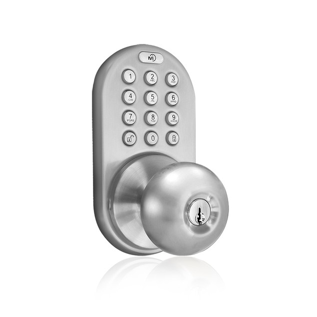 MiLocks Electronic Keyless Entry Door Lock with Back-lit Touchpad