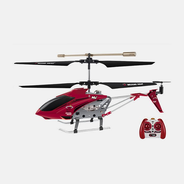 NBA Licensed Miami Heat RC Helicopter