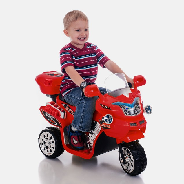 Lil' Rider 3 Wheel Battery Powered Bike - Red