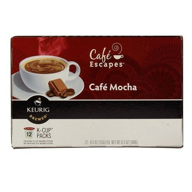 Green Mountain Cafe Escapes Cafe Mocha Keurig K-Cups