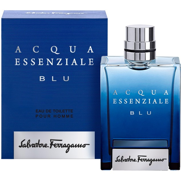 Salvatore Ferragamo Acqua Essenziale Blu Eau De Toilette Spray for Men 50ml