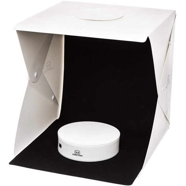 Shibusa Home Photo Studio Lightbox with Bonus 360 Turntable