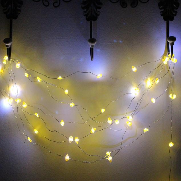 15 Foot Pineapple Design String Lights