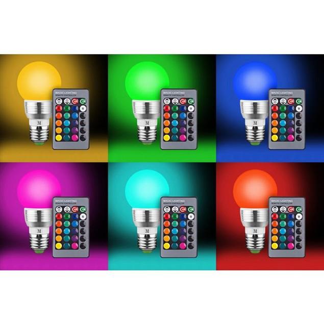 2-Pack Massimo RGB Round Bulb