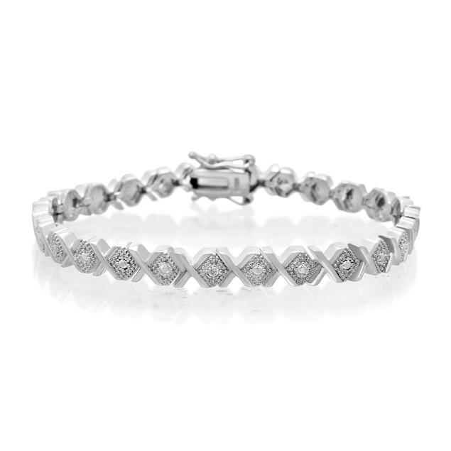 Diamond Accent X Bracelet