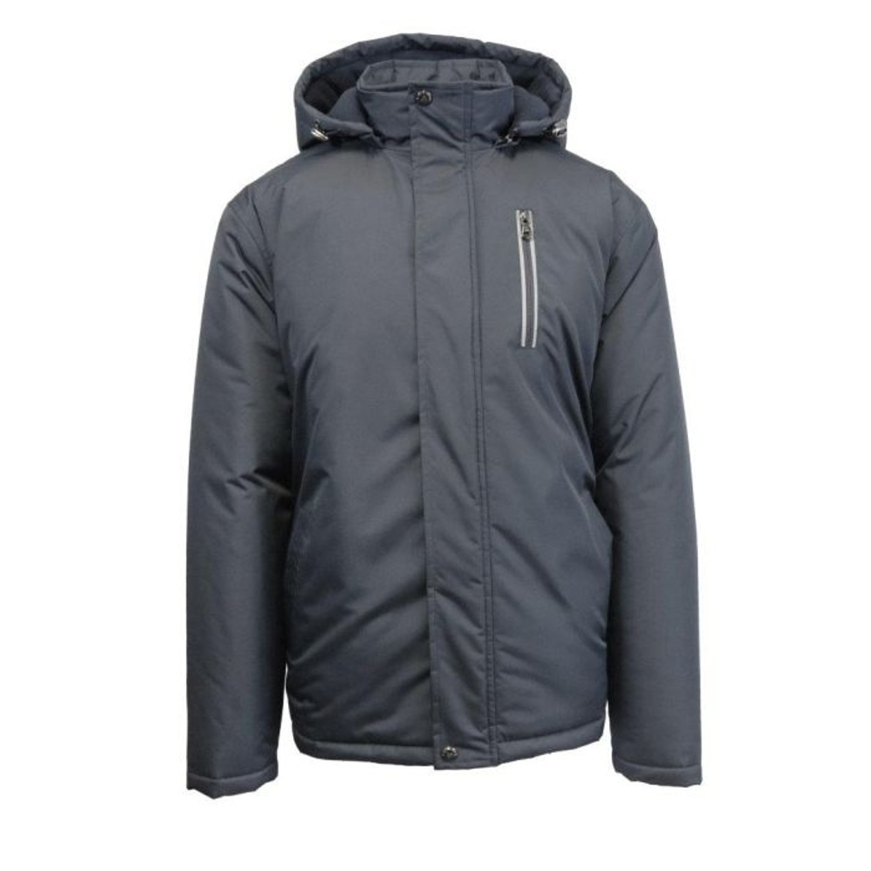 249b38e9516 Spire By Galaxy Men's Heavyweight Jacket With Detachable Hood - Tanga