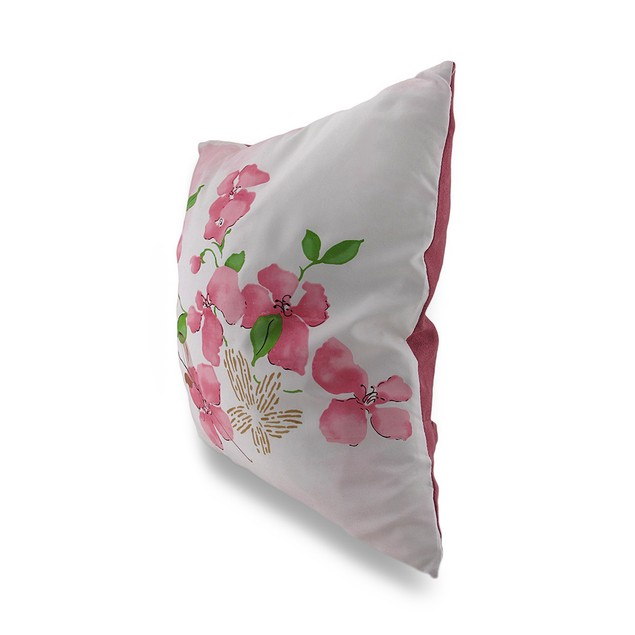 Pair Of Cherry Blossom Decorative Throw Pillows Throw Pillows