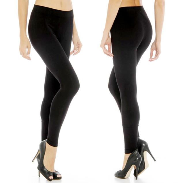 6-Pack of Women's Fleece-Lined Leggings