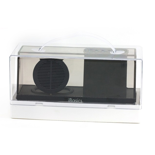iBasics Clear Acrylic Bluetooth Speaker