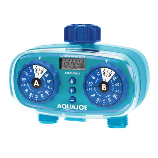 Aqua Joe 2-Zone Electronic Water Timer (AJ-ET2Z)