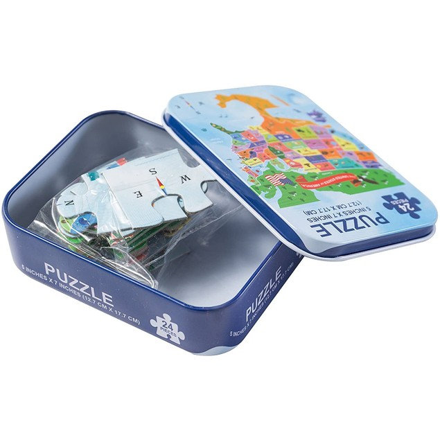 4-Pack Assorted 24pc Puzzles Set