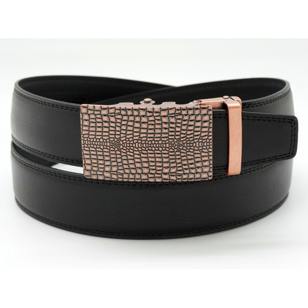 MKF Collection Dax Genuine Leather Belt for Men by Mia K.
