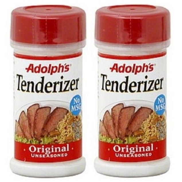 Adolph's Meat Tenderizer Original Unseasoned 2 Bottle Pack