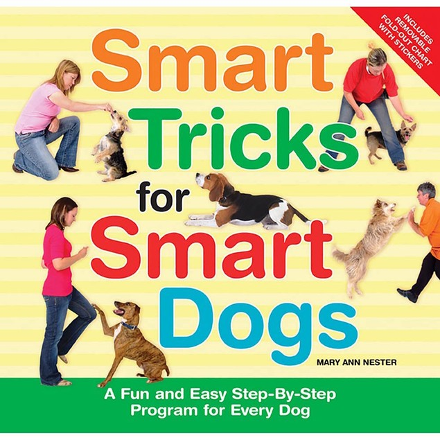 Smart Tricks for Smart Dogs Book, Assorted Dogs by TFH Publications