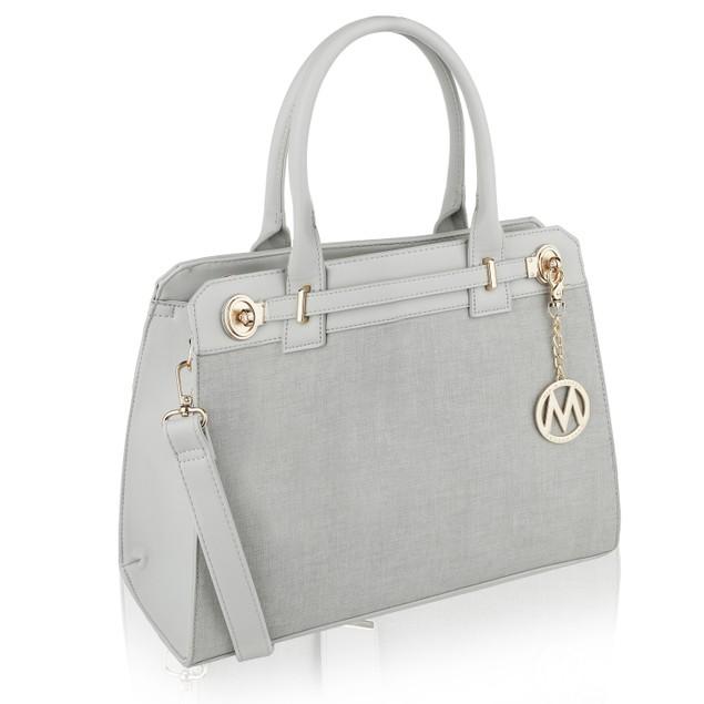 MKF Collection Nina Fashion Satchel Bag by Mia K. Farrow