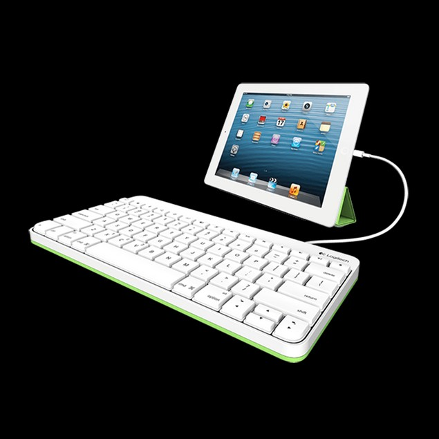 Logitech Wired Keyboard for iPad 1/2/3 - 920-006340