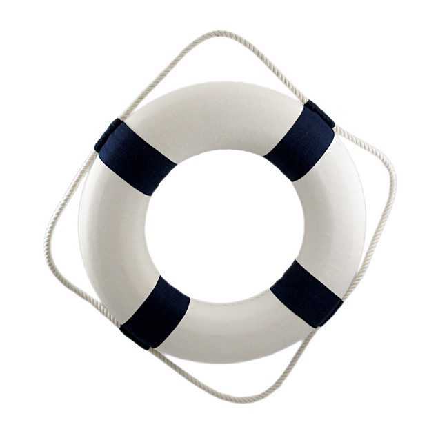 Happy Hour Life Ring Nautical Wall Decor Wall Sculptures