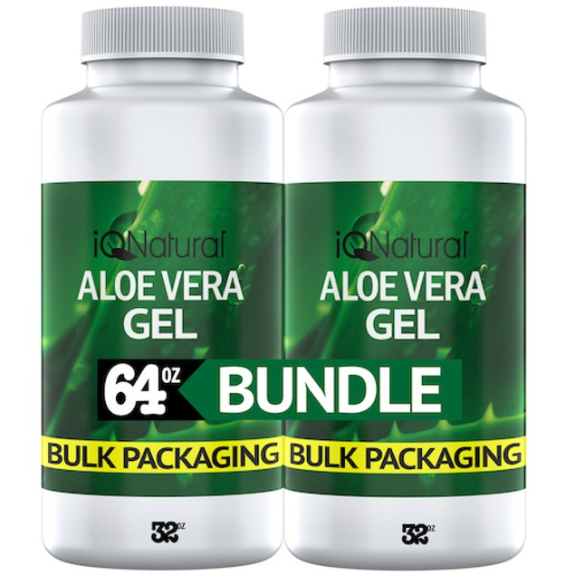 Organic Aloe Vera Gel - Made in USA