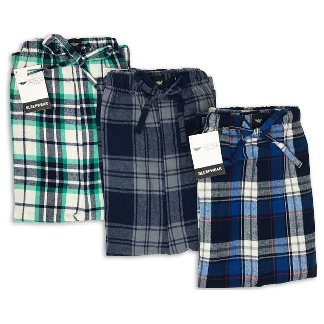 2-Pack Men's Cotton PJ Lounge Shorts (S-2X)