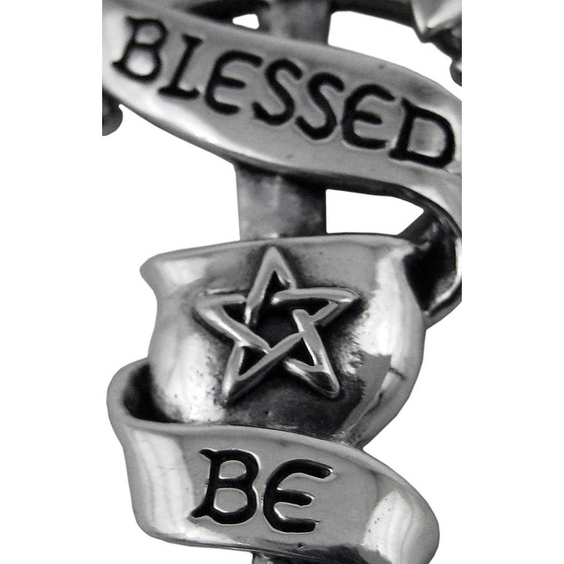 Wiccan Chalice And Blade `Blessed Be` Sterling Individual Pendants