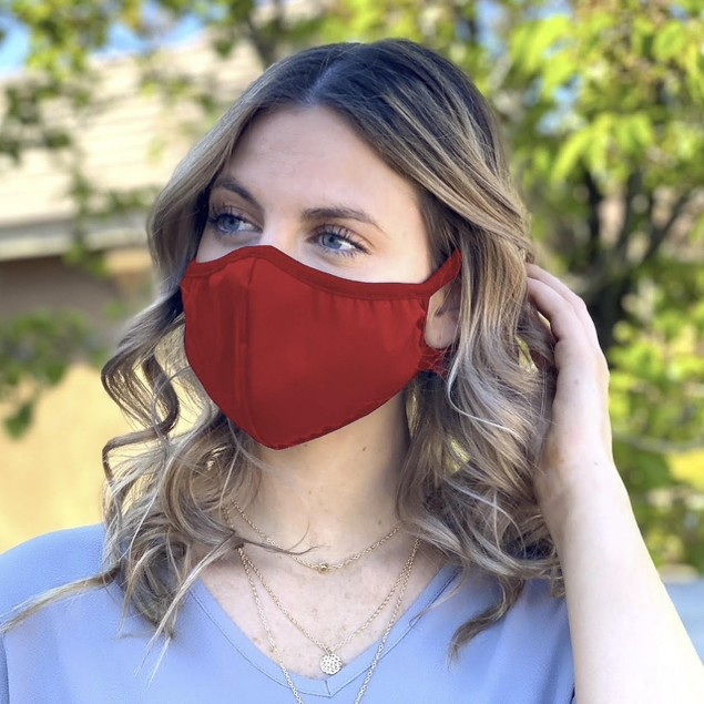2-Pack Organic Fashion Face Barrier Mask