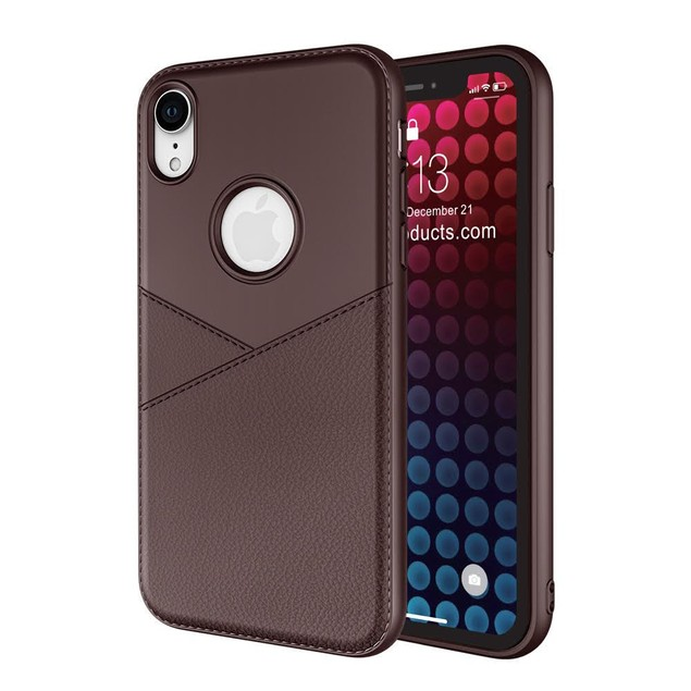 Waloo Anti Slip leather Texture Case for all iPhones