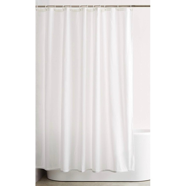 2-Pack: Heavy-Weight Magnetic Shower Curtain Liner