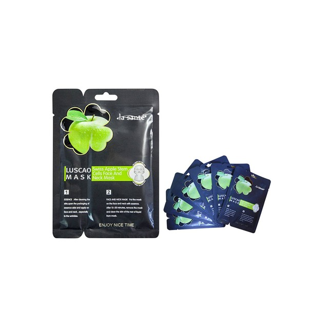 6-Pack : Antioxidant Apple Stem Cell Facial and Neck Mask