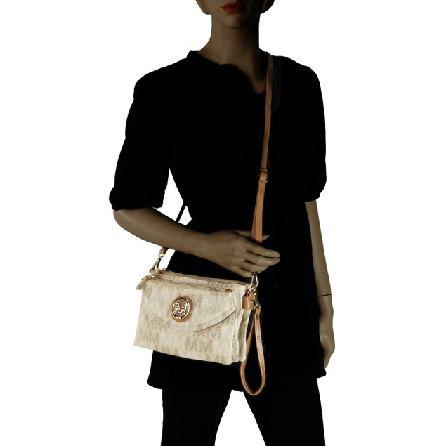 MKF Collection Ishani M Signature Cross-body Bag by Mia K. Farrow