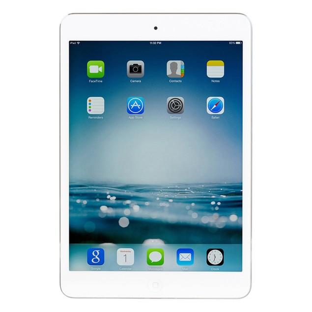 Apple iPad Mini 2 with Retina ME279LL/A (16GB WiFi White) - Grade B