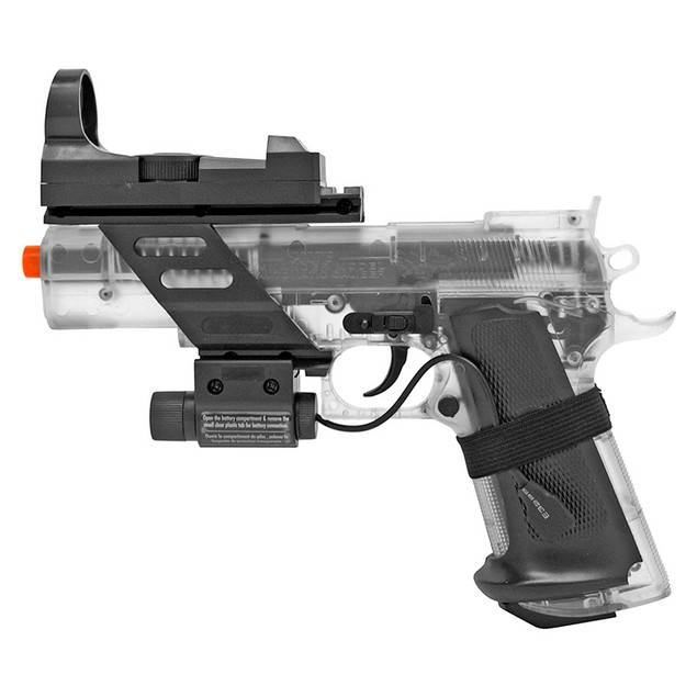 Colt Combat Commander Spring Powered Airsoft Pistol