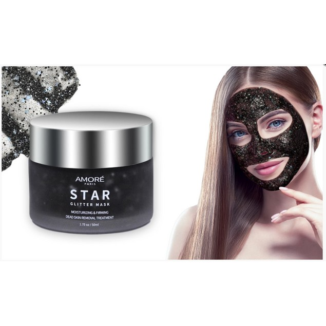 Deep Cleansing Glitter Facial Masks