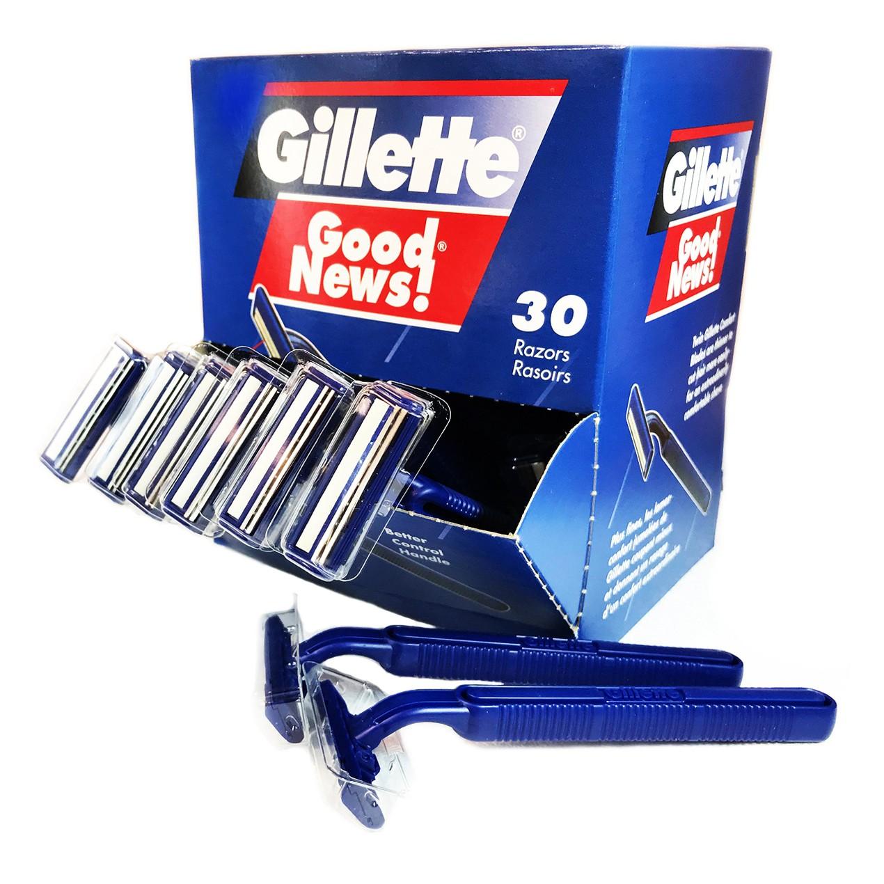 30-Pack Gillette Good News! Disposable Razors