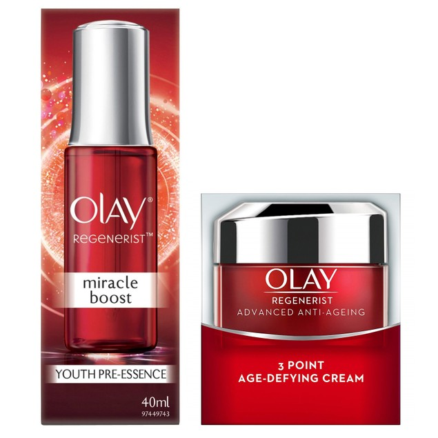 Olay Regenerist Bundle: Advanced Anti-Aging + Miracle Boost