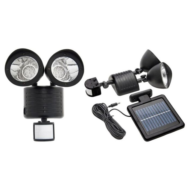 Outdoor Nation Solar Powered 22-LED Security Floodlight