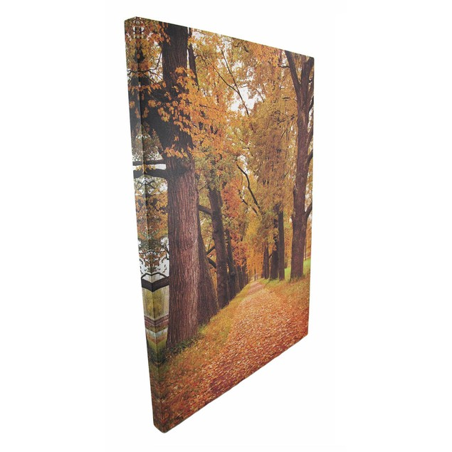 Scenic Autumn Trees Printed Canvas Wall Art Prints