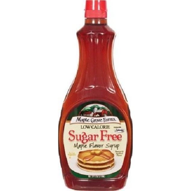 Maple Grove Farms Sugar Free Maple Flavor Syrup 24 oz Bottle