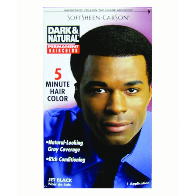 Ddi Dark And Natural Hair Color Men Jet Black (pack Of 12)