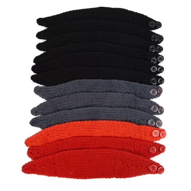 3-Pack Women's Knit Winter Headband Ear Warmer