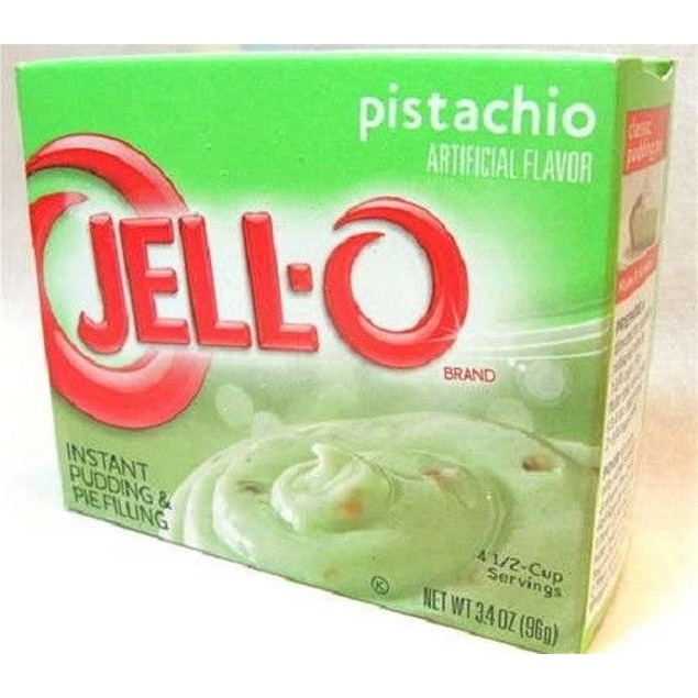 Jello Pistachio Instant Pudding & Pie Filling Mix