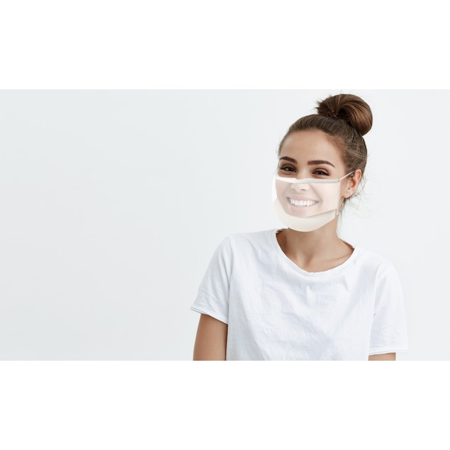 Full Expression Transparent Protective Non - Medical Face Mask