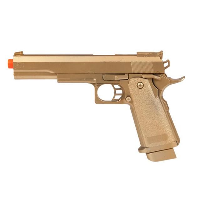 Defender Gold M1911 FPS-180 Spring Airsoft Pistol