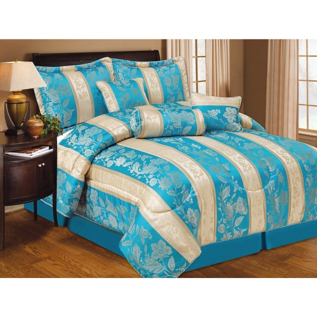 7 Piece Set: Lizette Comforter Collection