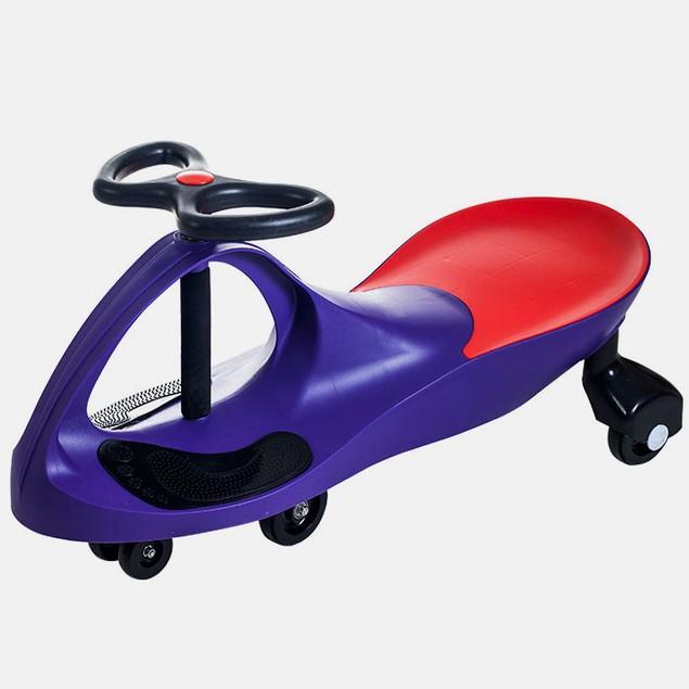 Lil' Rider Wiggle Car Ride On - Purple