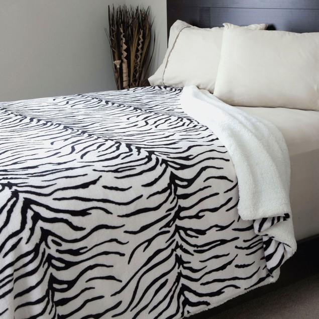 Lavish Home Animal Print Blanket