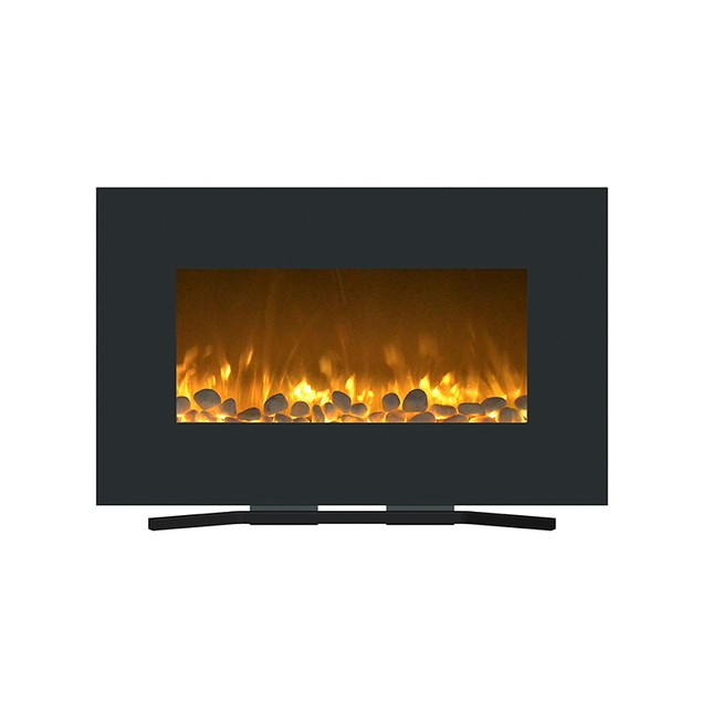 """Northwest 80-WSG03 Fireplace Color Changing Wall Mount Floor Stand, 36"""""""