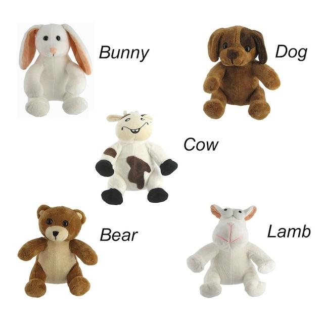 Pure Plushy Antimicrobial Stuffed Toys (5 to Choose From)